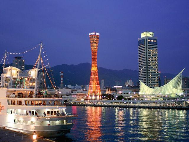 神戸までは電車で3時間程度で行けるので、日帰り旅行も可能です!!