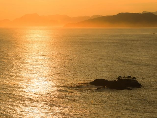 海沿い建つホテルなので、海を一望できます!!