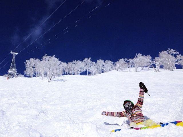 フカフカの新雪を楽しもう!