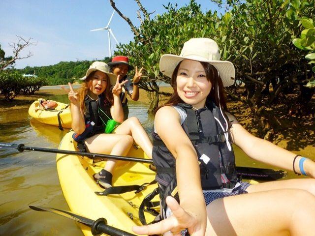 知られていないのが『カヌー』や『トレッキング』のツアー。海山川、色んな角度楽しんでみては?