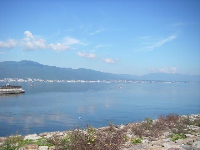【周辺環境】目の前に琵琶湖が広がります。