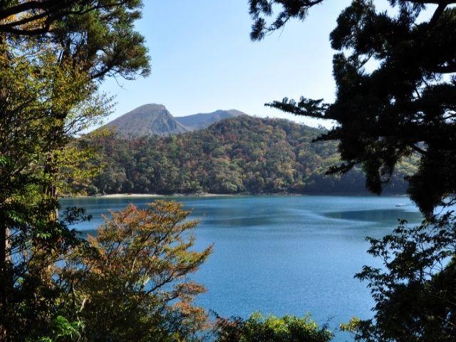 観光名所もたくさん。写真はえびの高原(宮崎)。霧島は宮崎にも近い!