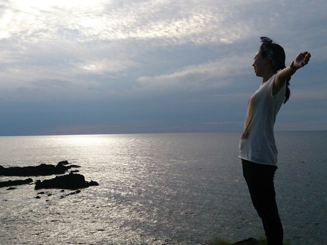 島だから楽しめるこの空気間〜☆圧巻の絶景と高台。きっと思うはず、この島に来てよかったとね♪