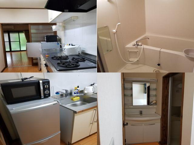 寮は広くて、キレイ。家電設備も充実!