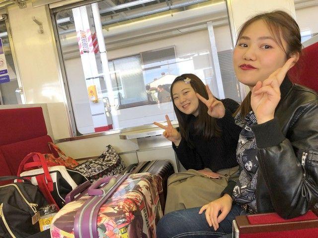 箱根までは新宿から電車であっという間です^^