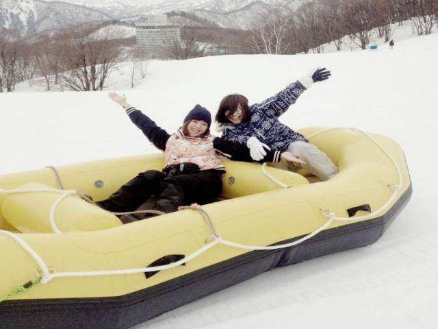 休みの日はスキー三昧!!