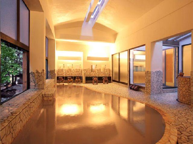 伊香保温泉が楽しめる大浴場です♪