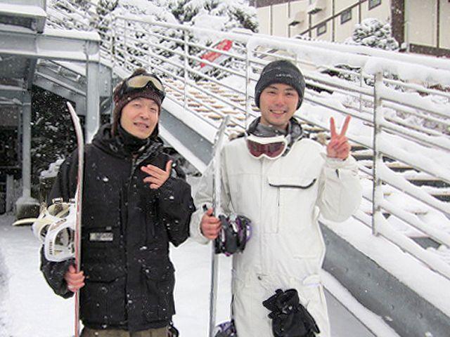 スキー場に併設のホテル内の清掃のお仕事です♪休日はスキー&スノボ滑り放題!!