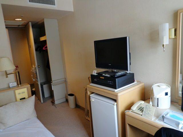 寮も綺麗な個室