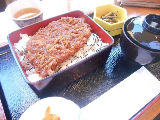 ★名物ソースかつ丼★