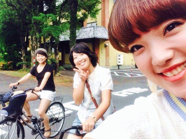 自転車で行くよどこまでも〜。