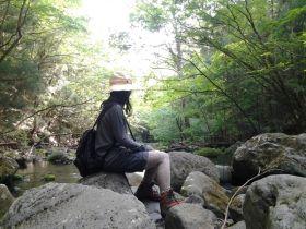 自然いっぱいでマイナスイオンたっぷり〜♪