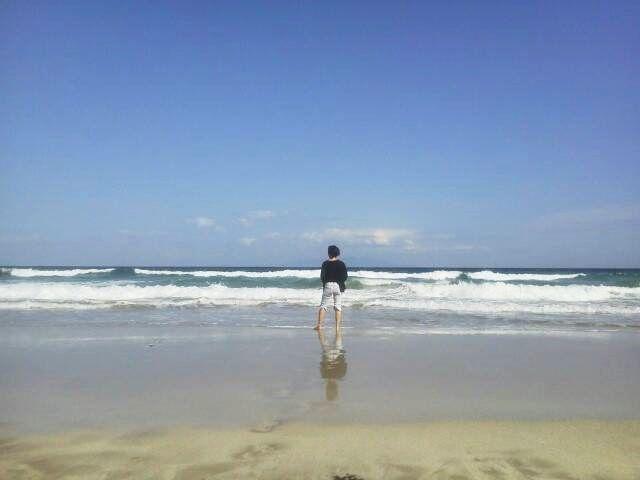 休日その3-静岡に来たからにはやっぱり海でしょ!のんびりした時間も必要ですよ!