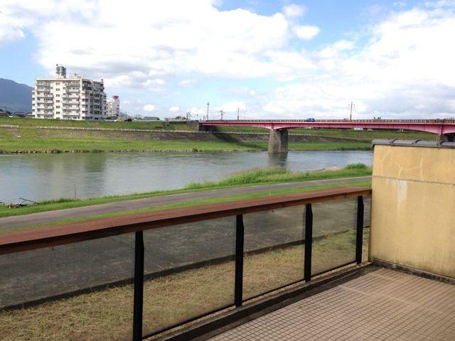 筑後川沿いの原鶴温泉でのお仕事♪