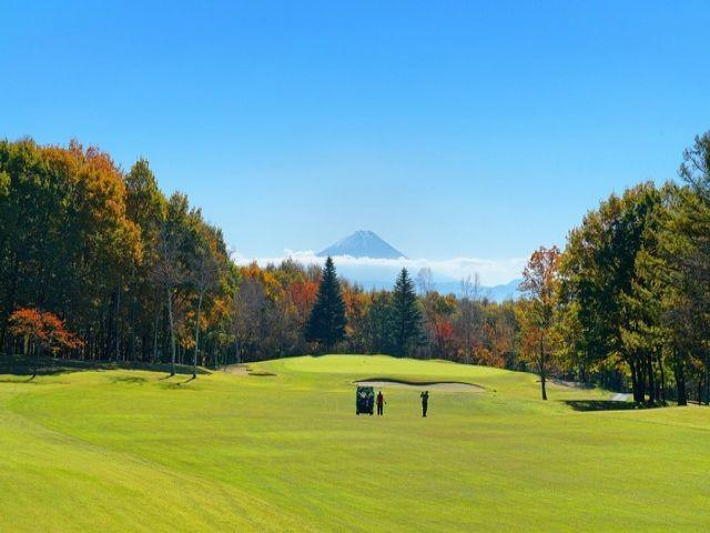 ゴルフ場に隣接している施設です☆ 運がよければ富士山が見られるかも?!