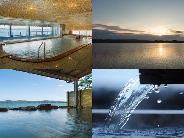 なんといっても温泉☆ ここのお風呂はしょっぱいんです・・・!!!!