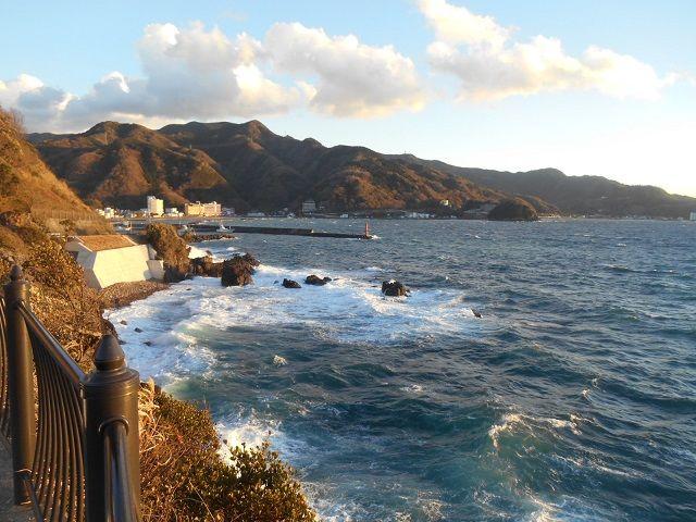 ホテル目の前の海です。もちろん近くには海水浴場もありますよ〜♪