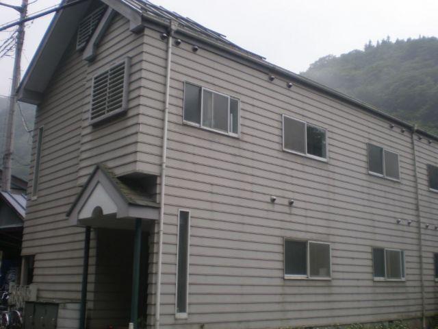 寮の外観です。こちらの寮は徒歩15分程にあります