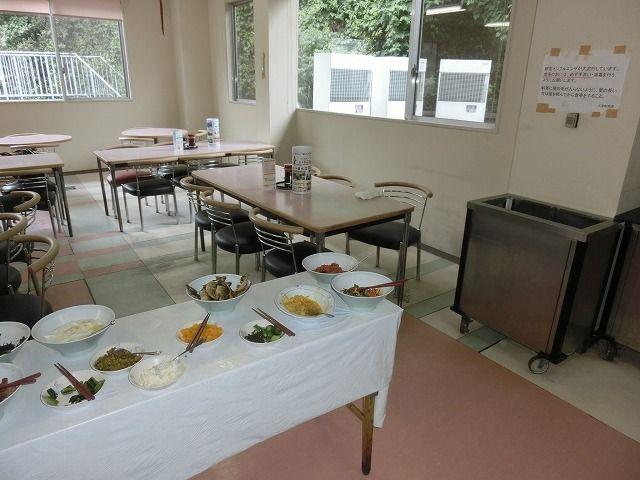 従業員食堂もあり料理は手作り!