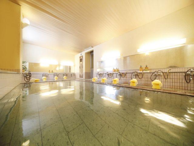 館内温泉はもちろん入浴可能♪冷えた体が芯からあったまりますよ〜☆