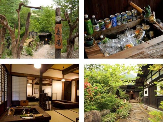 江戸時代の民家を移築して建てられた旅館です☆100年前の生活を体験してみましょう☆