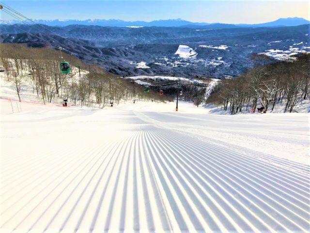 西日本最大級のスキー場です!