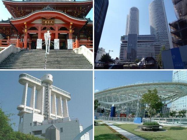 名古屋まで最寄り駅から電車で40分!名古屋観光も1日休みがあれば出来ちゃいます♪