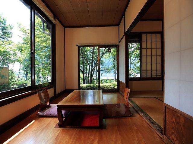 和室や和洋室などお部屋もさまざま♪お部屋からの眺めも抜群です♪♪