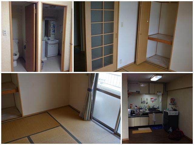 個室内にバストイレ付♪オーシャンビューの寮です!