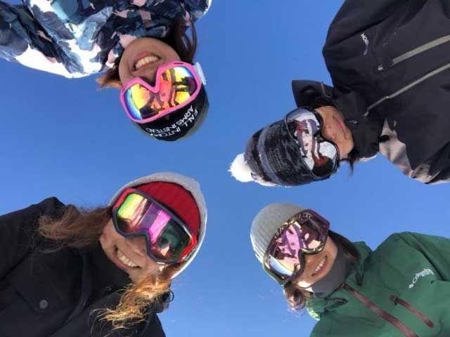友達同士でスキー場はいかが??