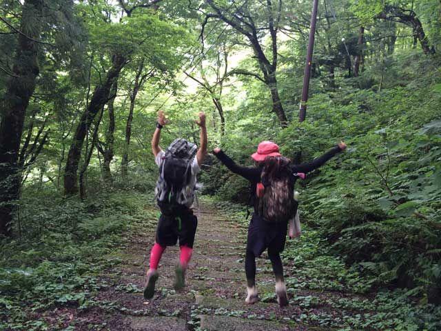 休日はハイキングコースで森林浴なんていかがですか?!マイナスイオンたっぷりです(^^)/