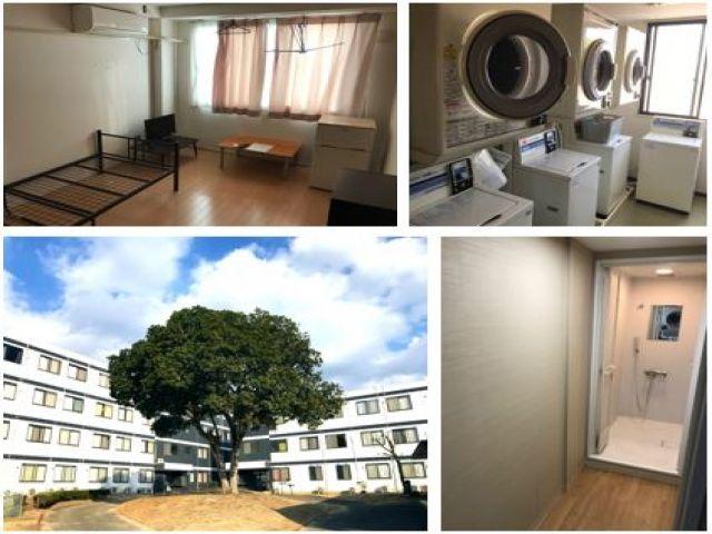 【個室寮】1R・フローリングタイプの個室寮です!職場からは約2km(通勤送迎有)