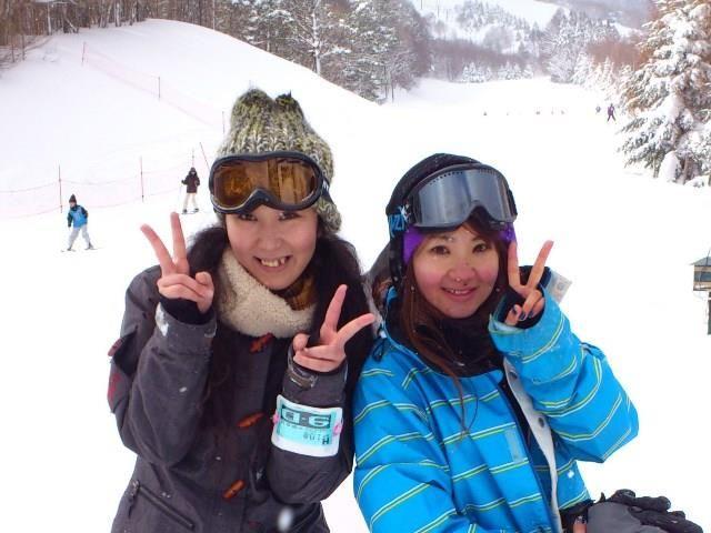 雪山でリゾバ!!