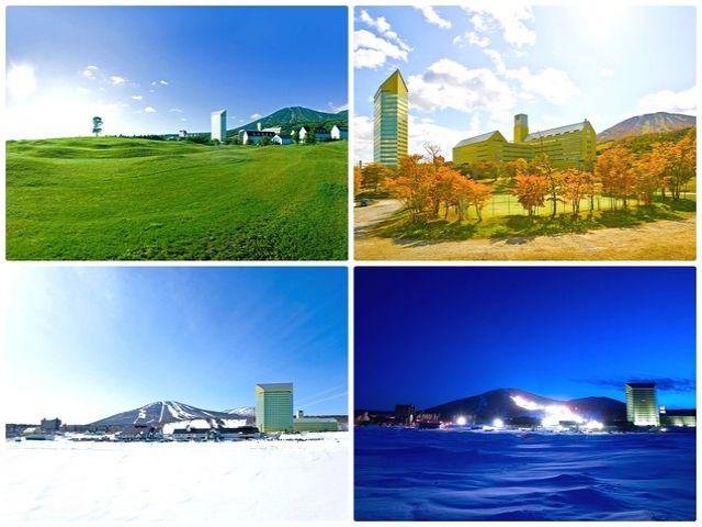 春・夏・秋・冬、オールシーズン楽しめる、大人気のリゾート!お友達誘ってリゾバに行ってみよう