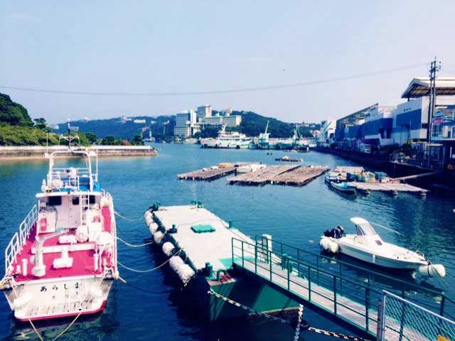 【周辺環境】海沿いの漁港町。スーパーやドラッグストアまでは路線バスを利用ください。