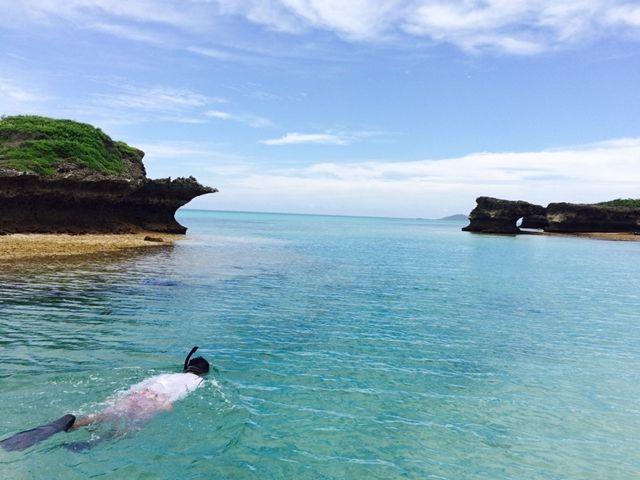 沖縄と言えば、やっぱり海! お休みにはシュノーケリングデビューしませんか?