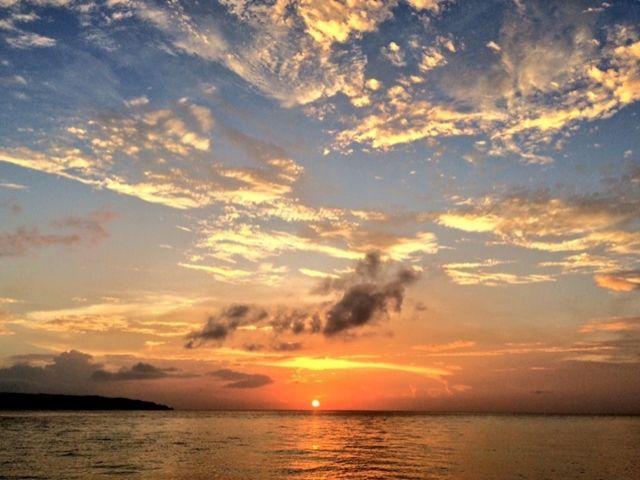 ★☆やっぱ夕日でしょう〜☆★ 沖縄一きれいな夕日の特典付!!