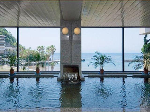 ホテルの大浴場!