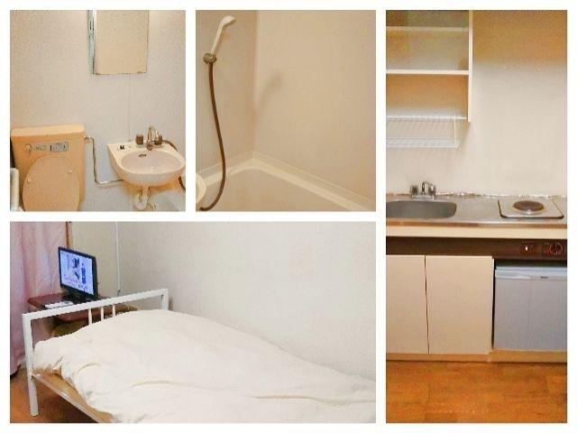 寮内風呂・トイレ・キッチン付♪ 寮内Wi-Fiも完備されています!