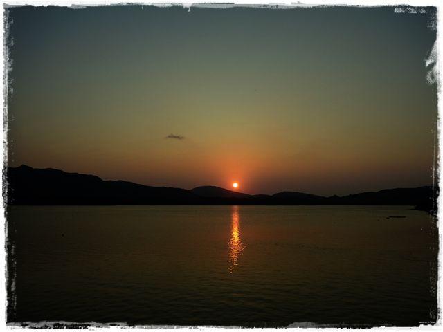 夕日もめちゃくちゃキレイですよ♪