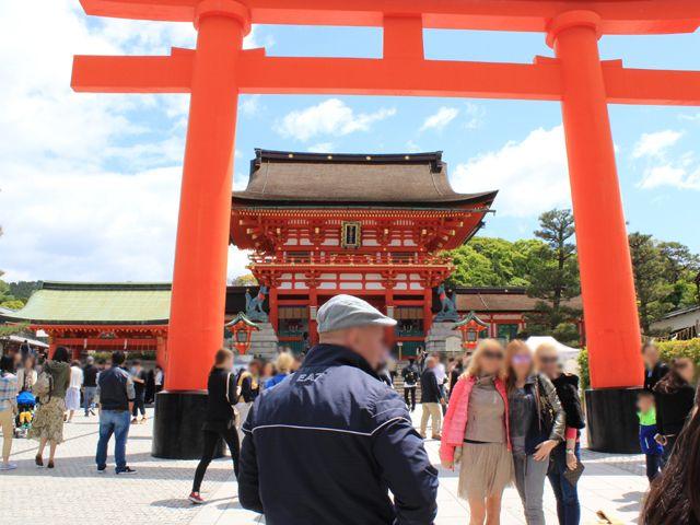 休日には京都観光もいかがでしょう。