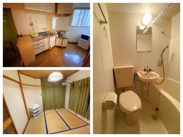 【寮写真】 寮内に風呂、トイレ、キッチン等付いているので生活も安心♪