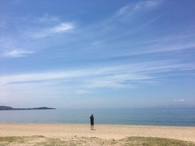 徒歩圏内にビーチも広がります♪