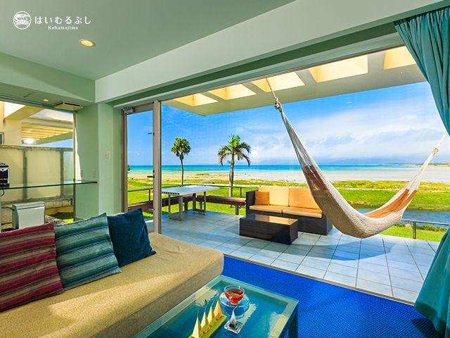 離島×事務?!沖縄でも珍しいリゾートバイト♪キレイな海に囲まれたリゾートホテルです★ミ