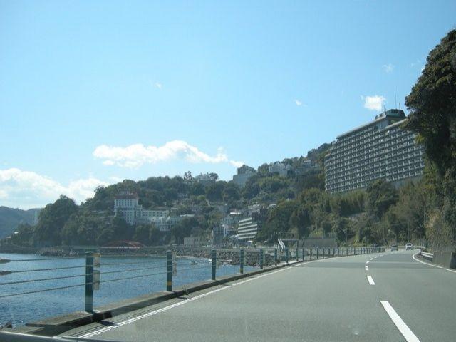 高台に建つホテルさんなので海のロケーションは抜群です★