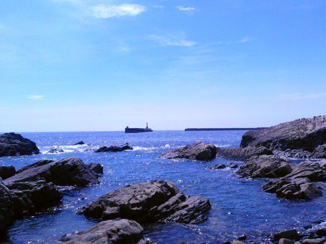 海アリ!海に囲まれた自然いっぱいの島!