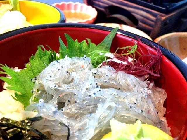 一度は食べて!!淡路島といえば生しらす丼!