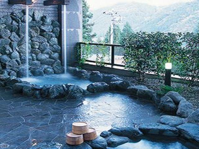 日本三大銘泉の温泉が入れます♪
