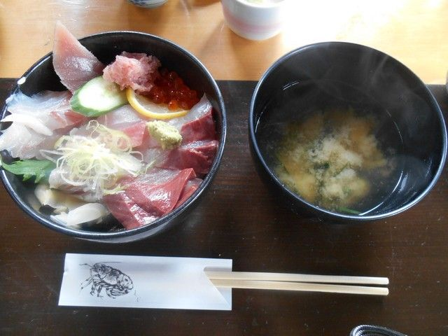 海の幸満載☆伊豆に行ったらやっぱり海鮮丼♪
