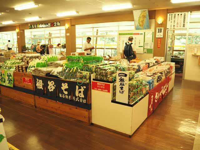 祖谷そば!!この地域ではすごく有名で美味しいおそばだそうですよ〜 (^^)